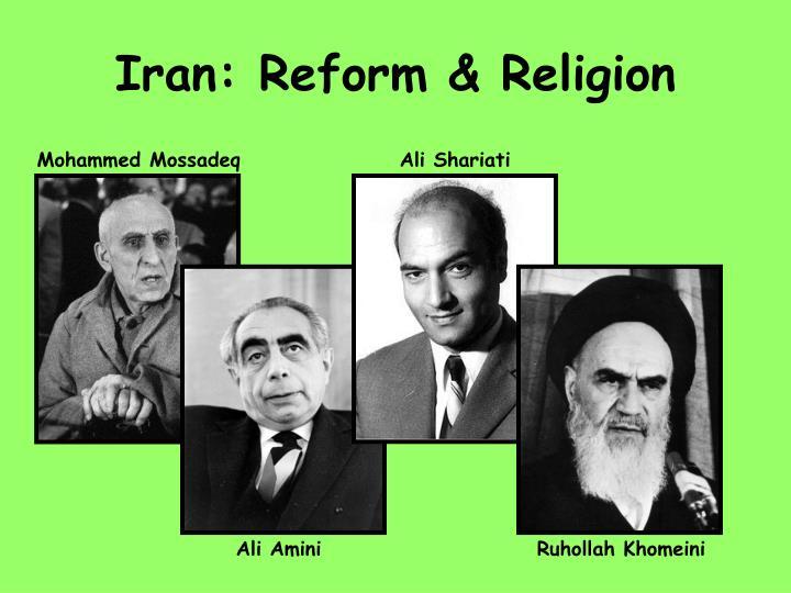 Iran: Reform & Religion