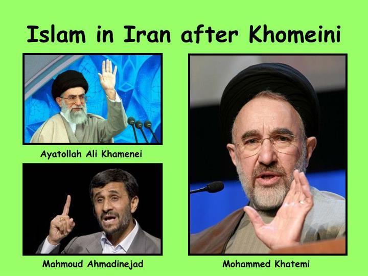 Islam in Iran after Khomeini