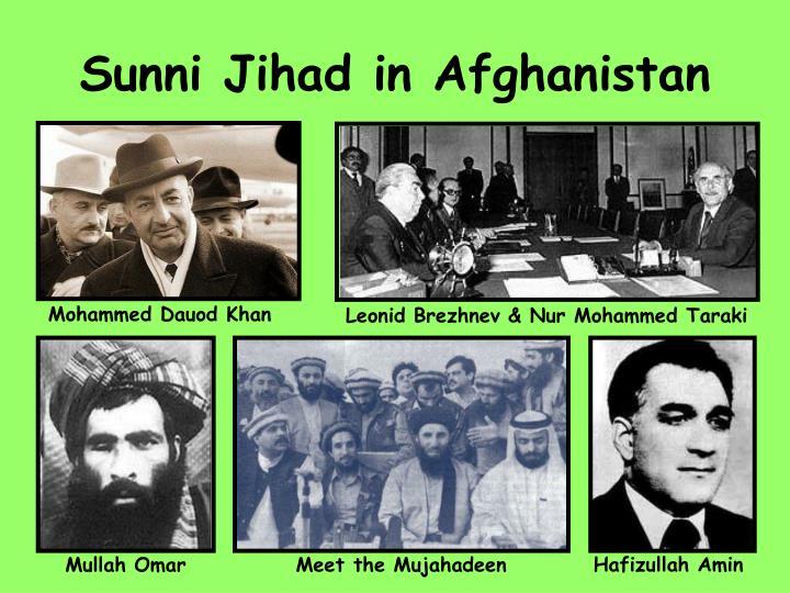 Sunni Jihad in Afghanistan
