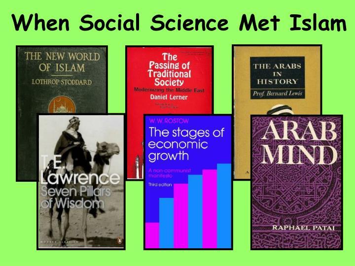 When social science met islam