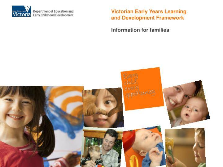 Victorian Early Years Learning