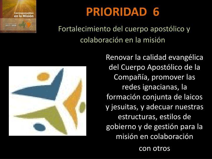 PRIORIDAD  6
