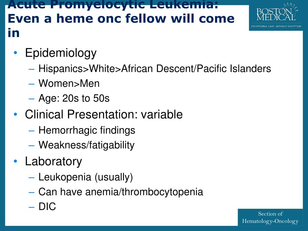 PPT - HEMATOLOGY-ONCOLOGY PowerPoint Presentation - ID:2983190