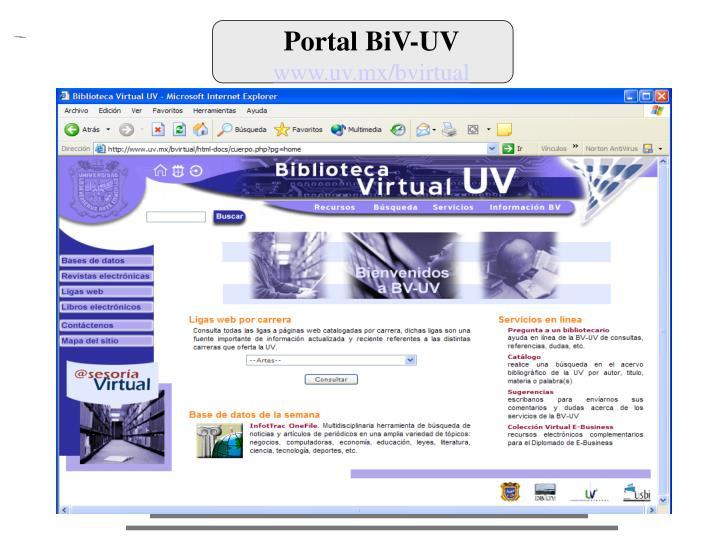 Portal BiV-UV