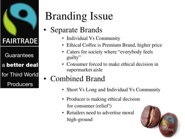 Branding Issue