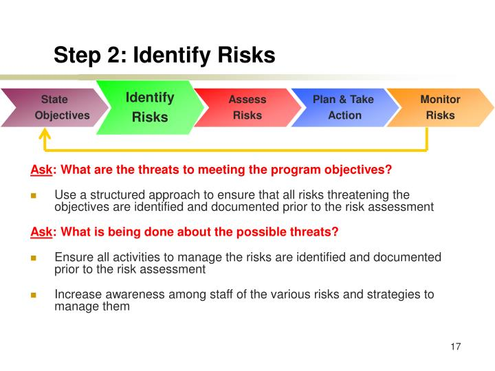 Step 2: Identify Risks