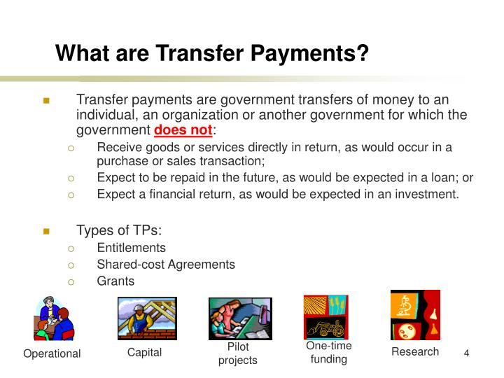 What are Transfer Payments?