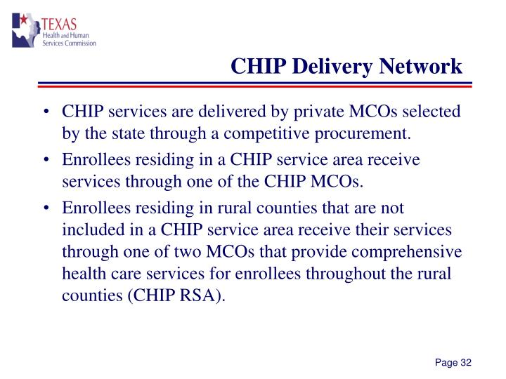 CHIP Delivery Network