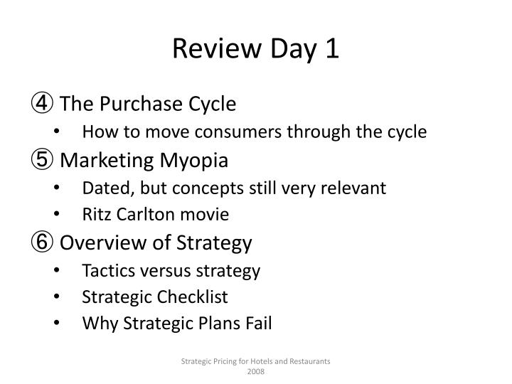 Review Day 1