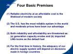 four basic premises