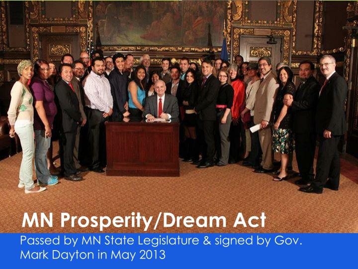MN Prosperity/Dream Act
