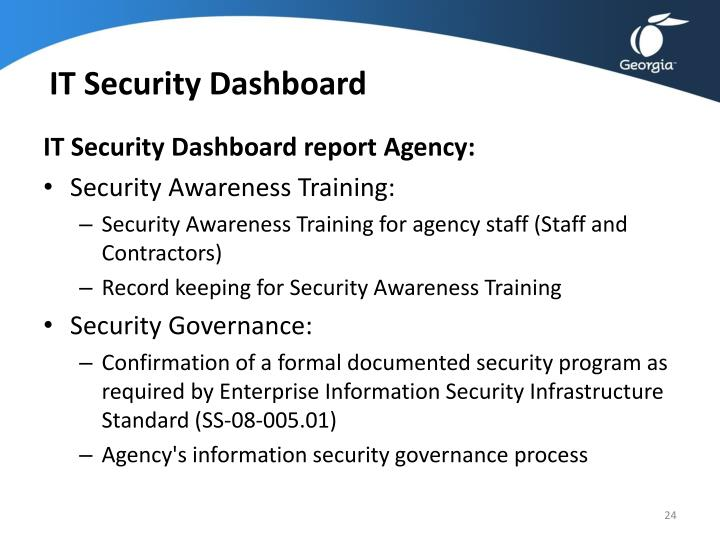 IT Security Dashboard