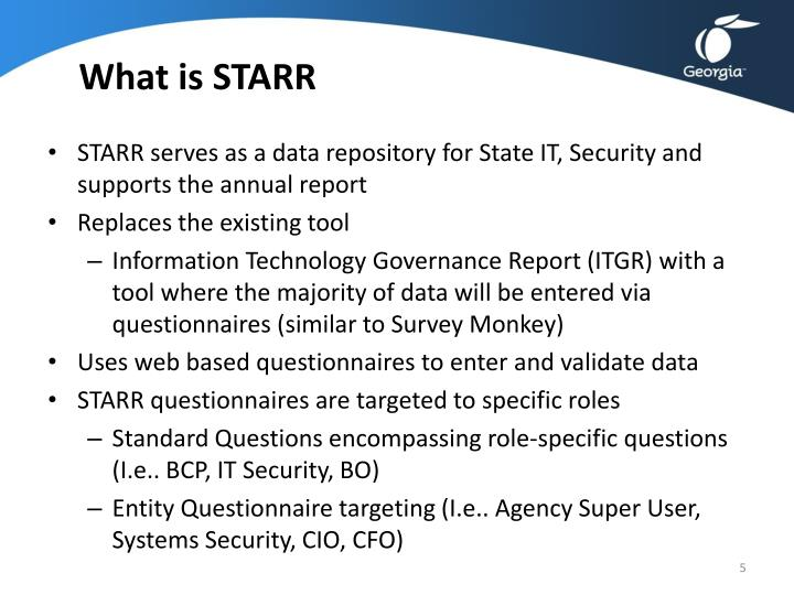 What is STARR