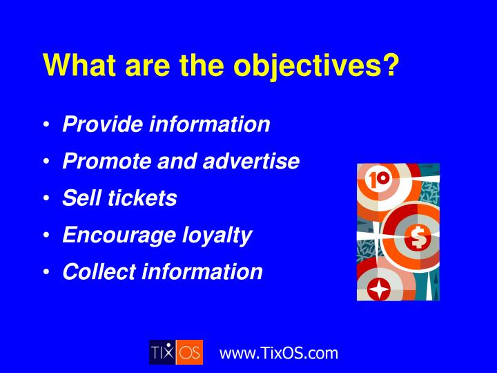 What are the objectives