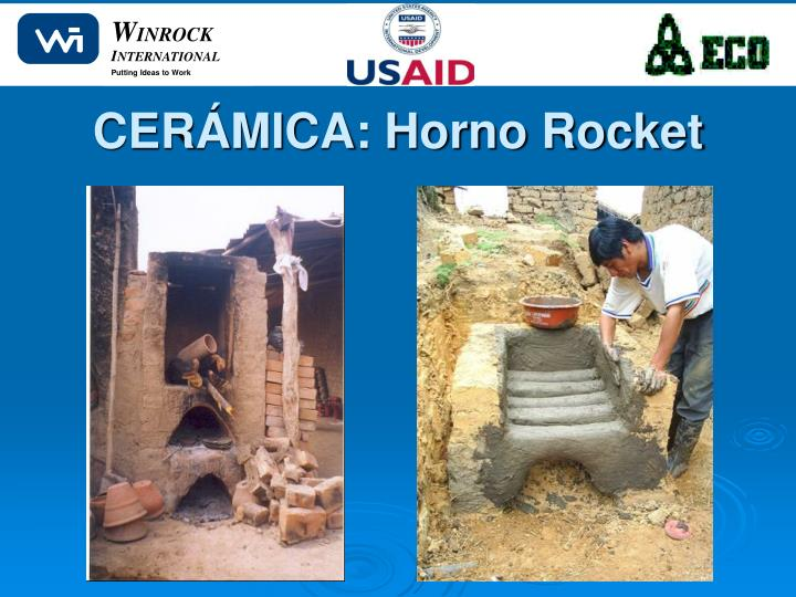 CERÁMICA: Horno Rocket