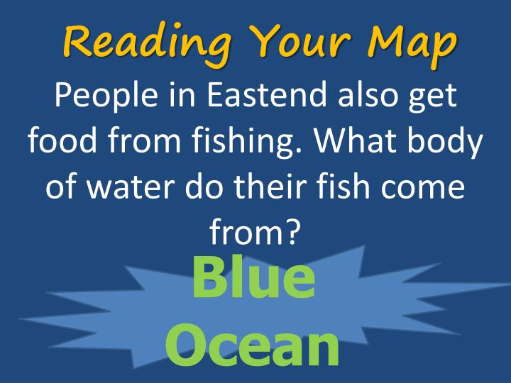 Reading Your Map