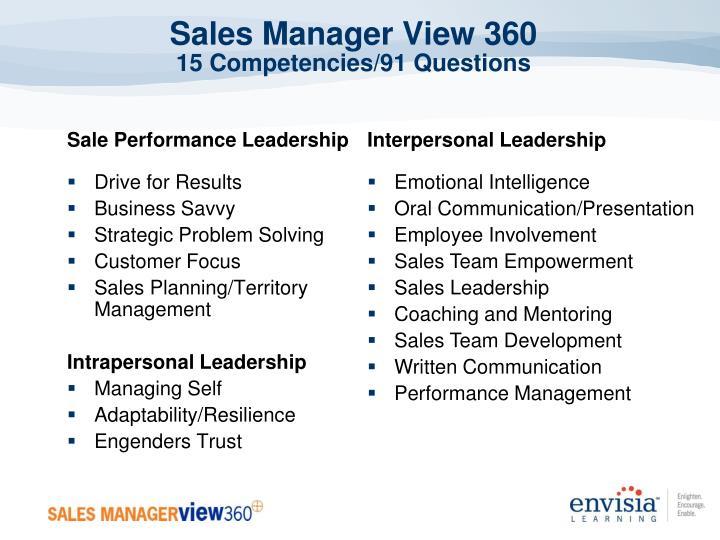 Sale Performance Leadership