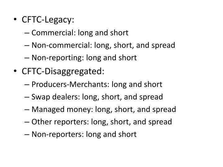 CFTC-Legacy:
