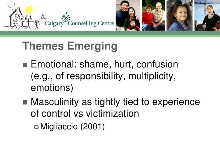 Themes Emerging