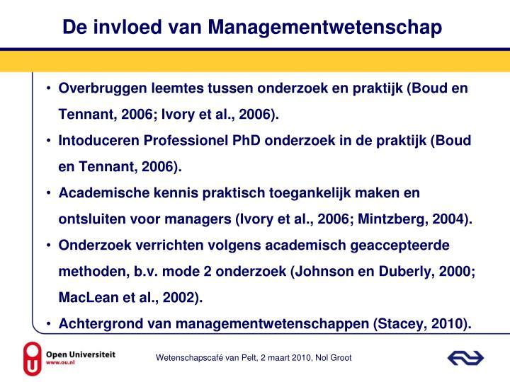 De invloed van Managementwetenschap