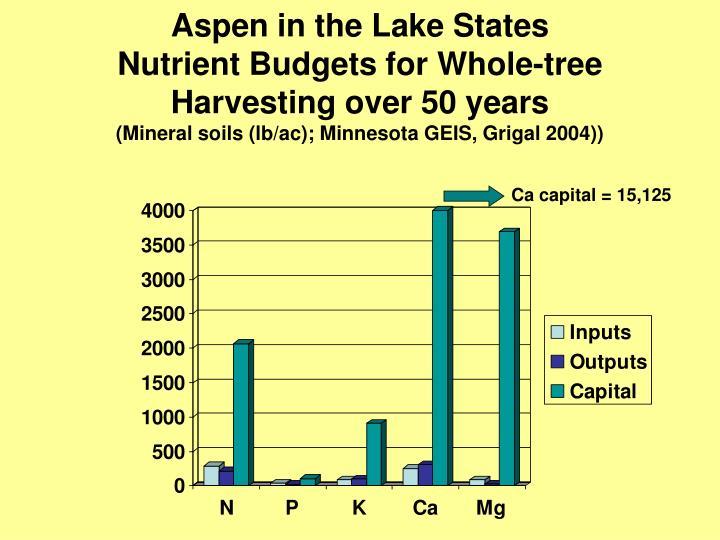Aspen in the Lake States