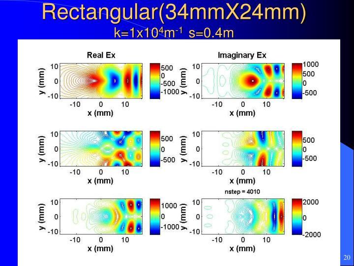 Rectangular(34mmX24mm)