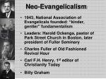 neo evangelicalism