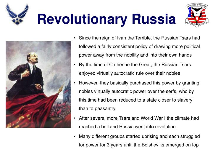 Revolutionary Russia