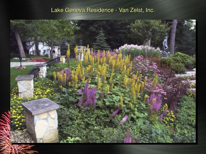 Lake Geneva Residence - Van Zelst, Inc.
