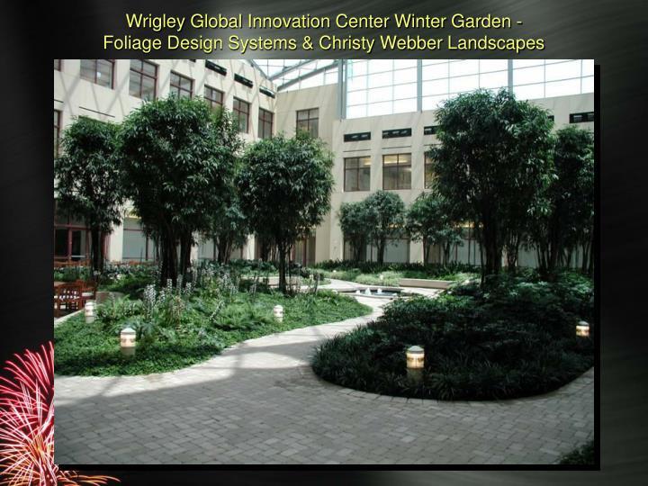 Wrigley Global Innovation Center Winter Garden -