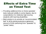 effects of extra time on timed test1