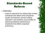 standards based reform1