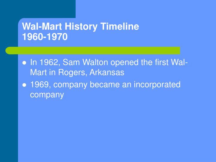 background information of sam walton the founder of wal mart Rob walton, son of wal-mart founder sam walton, had been chairman since 1992.