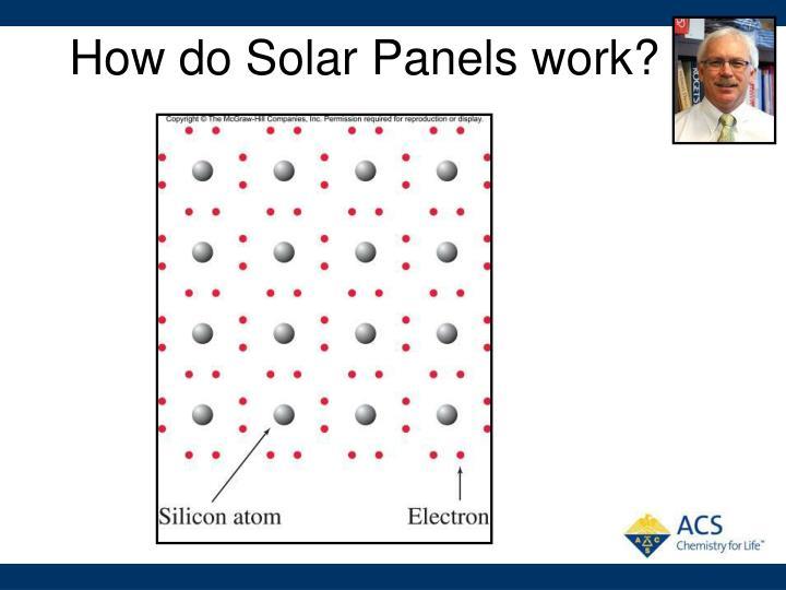 How do Solar Panels work?