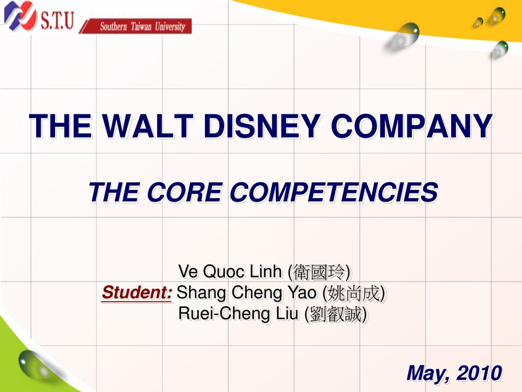 disney core competencies