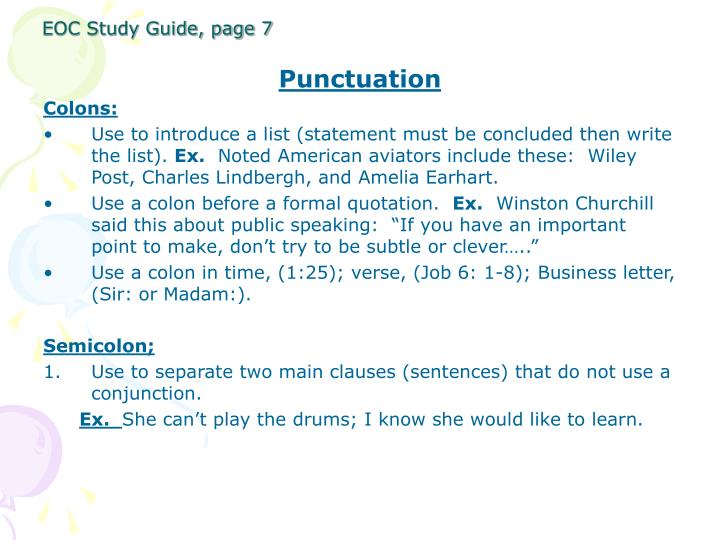 EOC Study Guide, page 7