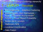 1 leach discussed