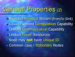 general properties 2