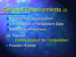 general requirements 2