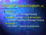 protocol classification 4