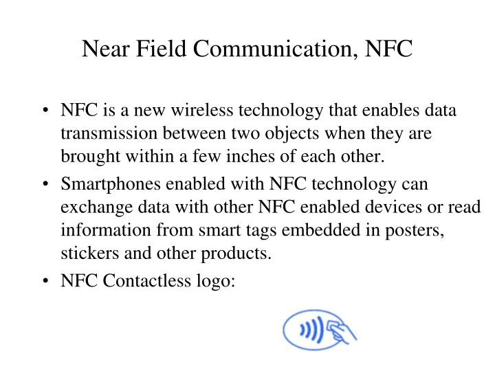 Near field communication nfc