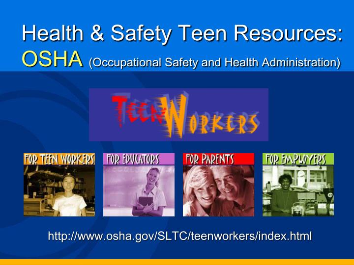 the importance of occupational safety health administration What is the occupational safety and health administration (osha) place in order to maximize the ergonomic efficiency of a workplace, occupational safety and health administration (osha) requires investigations of the structural integrity latent within any facilities utilized by employees and.
