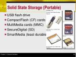 solid state storage portable