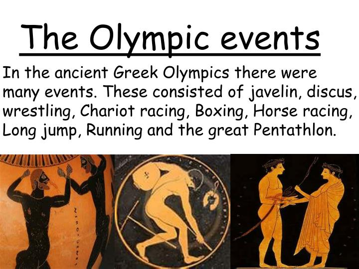 Ppt Ancient Greek Olympics Powerpoint Presentation Id