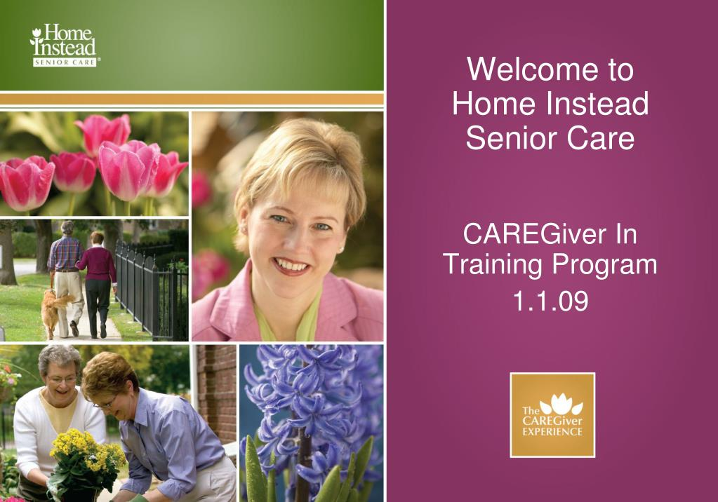 PPT - Welcome to Home Instead Senior Care PowerPoint