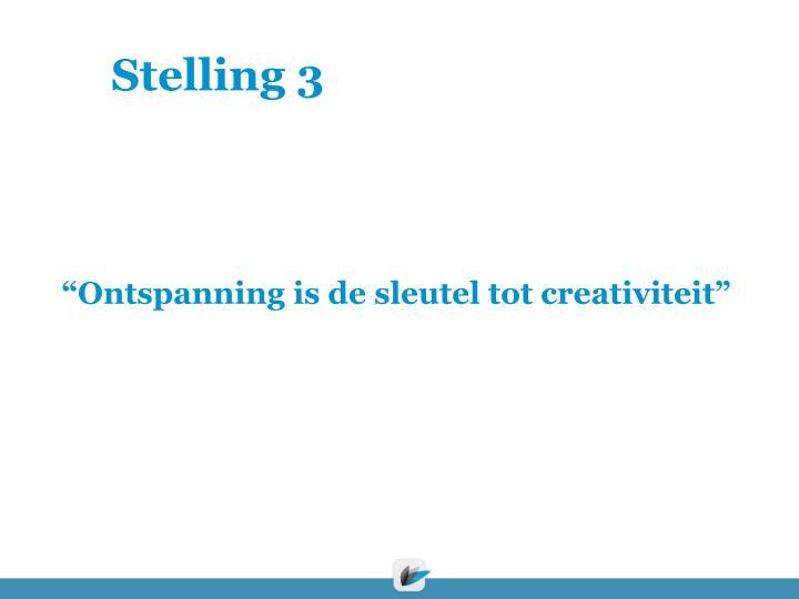 Stelling 3