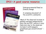 ipcc a good course resource