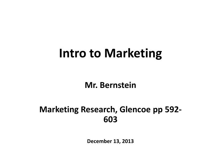 intro to marketing final review Study flashcards on principles of marketing - final exam review at cramcom quickly memorize the terms, phrases and much more cramcom makes it easy to get the grade you want.