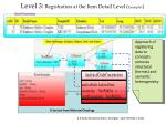 level 3 registration at the item detail level example1