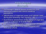 pabu project products